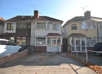 Thumbnail 2 bed semi-detached house to rent in Cateswell Road, Sparkhill, Birmingham