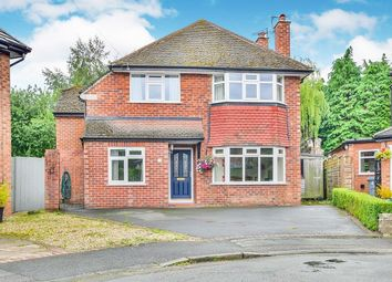 Thumbnail 4 bed detached house for sale in Finney Close, Wilmslow