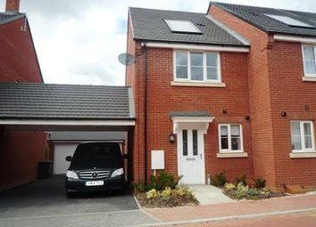 Thumbnail 2 bedroom end terrace house to rent in Tees Avenue, Rushden