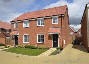 Thumbnail 3 bed semi-detached house for sale in Nigel Way, Trimley St. Martin, Felixstowe