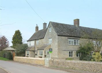 Thumbnail 4 bed terraced house for sale in Long Row, Castle Eaton, Wiltshire