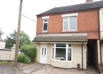 3 bed end terrace house for sale in Wood Road, Ellistown, Coalville LE67