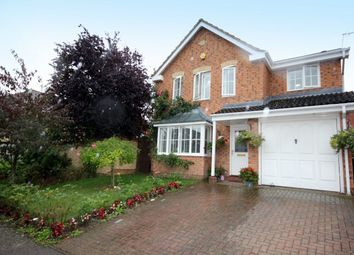 Thumbnail 4 bedroom detached house for sale in Waller Close, Dussindale, Norwich