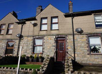 Thumbnail 2 bed terraced house for sale in Trefor, Caernarfon