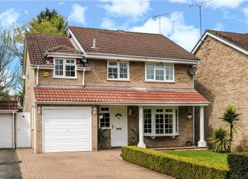 Thumbnail 4 bed detached house for sale in Sheraton Close, Hawley, Camberley