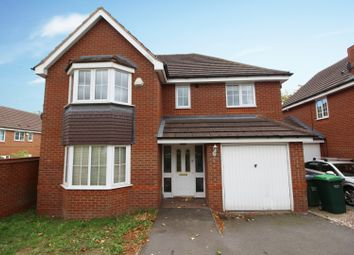Thumbnail 4 bed detached house for sale in Brindle Road, Walsall, West Midlands