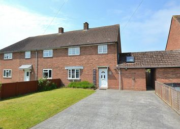 Thumbnail 3 bed semi-detached house for sale in Breach Road, Grafham, Huntingdon, Cambridgeshire