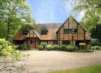 Thumbnail 5 bed detached house to rent in Earleydene, Ascot, Berkshire