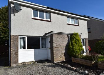 Thumbnail 2 bed semi-detached house for sale in Teal Avenue, Drakies, Inverness