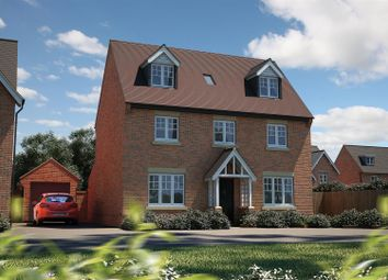 Thumbnail 4 bed detached house for sale in Plot 30, Lilac View, Marton Road, Long Itchington