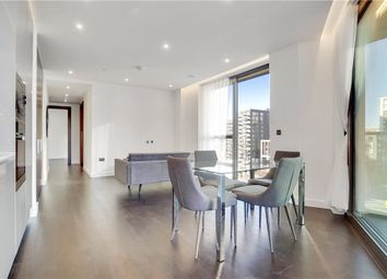 Thumbnail 2 bed flat to rent in Glacier House, The Residence, Charles Clowes Walk, London