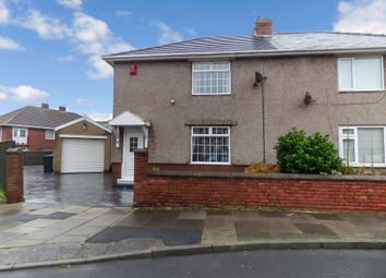 Thumbnail 2 bed semi-detached house for sale in North View, Newbiggin-By-The-Sea