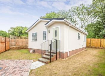 Thumbnail 2 bed mobile/park home for sale in Woodlands Park Homes, Danesbury Park Road, Welwyn, Hertfordshire