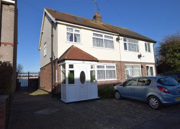 Thumbnail 4 bedroom semi-detached house for sale in Sylvan Avenue, Chadwell Heath, Romford