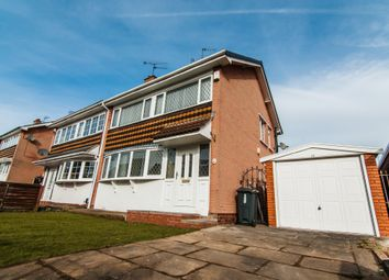 Thumbnail 3 bed semi-detached house to rent in Walsham Drive, Cusworth, Doncaster