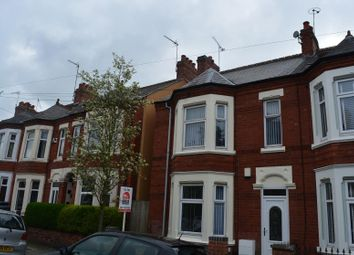 Thumbnail 3 bedroom terraced house to rent in Harefield Rd Coventry, Stoke, Coventry