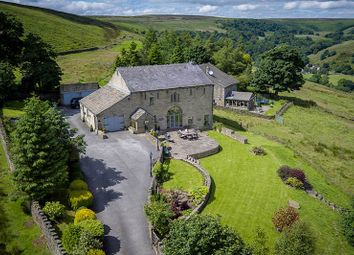 Thumbnail 4 bed barn conversion for sale in Clough Lane, Midgley, Halifax