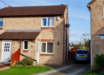 Thumbnail 2 bed semi-detached house for sale in Adelaide Close, Lincoln
