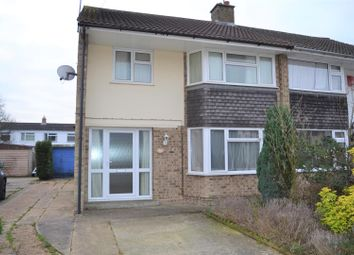 Thumbnail 3 bed semi-detached house for sale in Gresham Close, King's Lynn