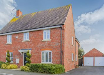 Thumbnail 4 bed detached house for sale in Masefield Drive, Earl Shilton, Leicester