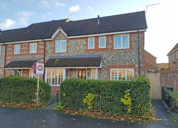 Thumbnail 3 bed end terrace house to rent in Oaklands Avenue, Amesbury, Wiltshire