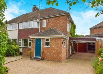 Thumbnail 3 bed semi-detached house for sale in Wolverton Road, Haversham, Milton Keynes