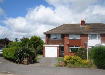 Thumbnail 3 bed semi-detached house for sale in Grange Drive, Stratton, Swindon