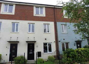 Thumbnail 4 bedroom terraced house for sale in West Lake Avenue, Hampton Vale, Peterborough