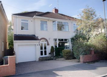 Thumbnail 3 bedroom semi-detached house for sale in Cleeve Lodge Road, Downend, Bristol
