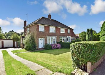 Thumbnail 3 bed semi-detached house for sale in Dewlands, Godstone, Surrey