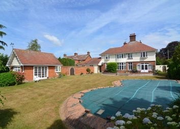 Thumbnail 5 bed detached house for sale in High Road East, Felixstowe, Suffolk
