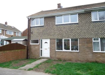Thumbnail 3 bed town house to rent in Thackeray Walk, Knottingley
