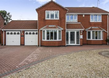 Thumbnail 5 bed detached house for sale in Diamond Avenue, Kirkby-In-Ashfield, Nottingham