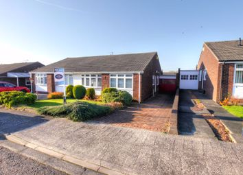 Thumbnail 3 bedroom semi-detached bungalow for sale in Chudleigh Gardens, Chapel House, Newcastle Upon Tyne