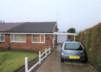Thumbnail 2 bed semi-detached bungalow for sale in Greenmoor Avenue, Fegg Hayes, Stoke-On-Trent