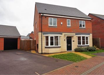 Thumbnail 4 bed detached house for sale in Pasture Drive, Birstall, Leicester