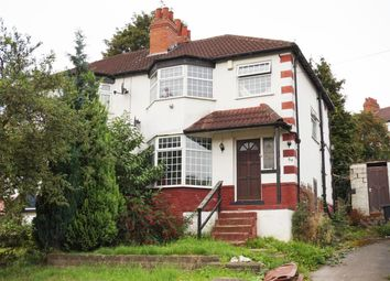 Thumbnail 3 bed semi-detached house for sale in Roundhay Grove, Leeds