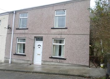 Thumbnail 2 bed end terrace house to rent in Llewellyn Street, Nantymoel, Bridgend
