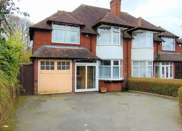 Thumbnail 4 bed semi-detached house for sale in Bodenham Road, Northfield, Birmingham