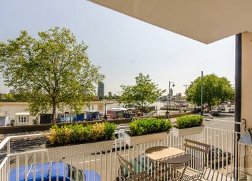 Thumbnail 3 bedroom flat for sale in Cheyne Walk, Chelsea