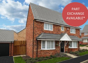 "Thumbnail 4 bedroom detached house for sale in ""Alnwick"" at Stanley Close, Corby"