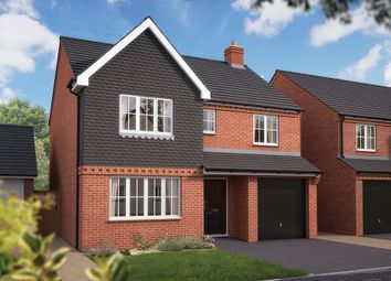 "Thumbnail 4 bed detached house for sale in ""The Lincoln"" at Haughton Road, Shifnal"