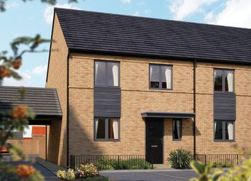 "Thumbnail 4 bed semi-detached house for sale in ""The Salisbury"" at Limousin Avenue, Whitehouse, Milton Keynes"