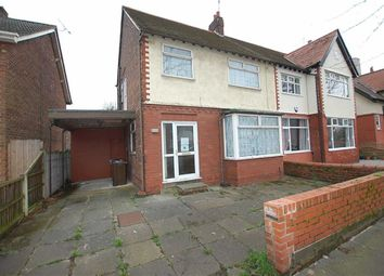 Thumbnail 3 bedroom semi-detached house for sale in Nazeby Avenue, Crosby, Liverpool