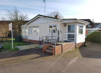 Thumbnail 1 bed mobile/park home for sale in Three Star Park, Bedford Road, Lower Stondon, Henlow