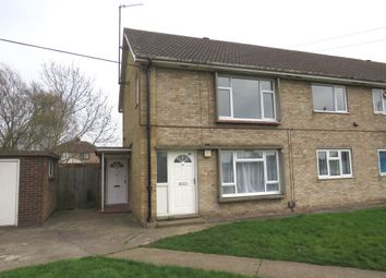 Thumbnail 2 bed flat for sale in Coldhorn Crescent, Wisbech