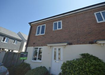 Thumbnail 3 bed end terrace house to rent in Cavendish Crescent, Newquay