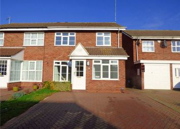 Thumbnail 4 bedroom semi-detached house for sale in Willow Brook Road, Wolston, Coventry