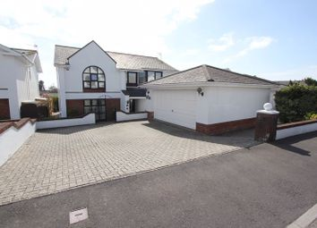 Thumbnail 5 bed detached house for sale in Lower Farm Court, Rhoose, Barry