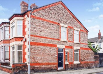 Thumbnail 3 bed end terrace house for sale in Lynholme Road, Liverpool